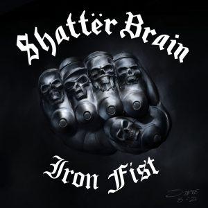 Shatter Brain motorhead cover 3